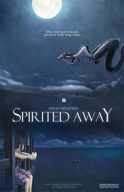 Spirited Away by Hayao MIYAZAKI, Japan