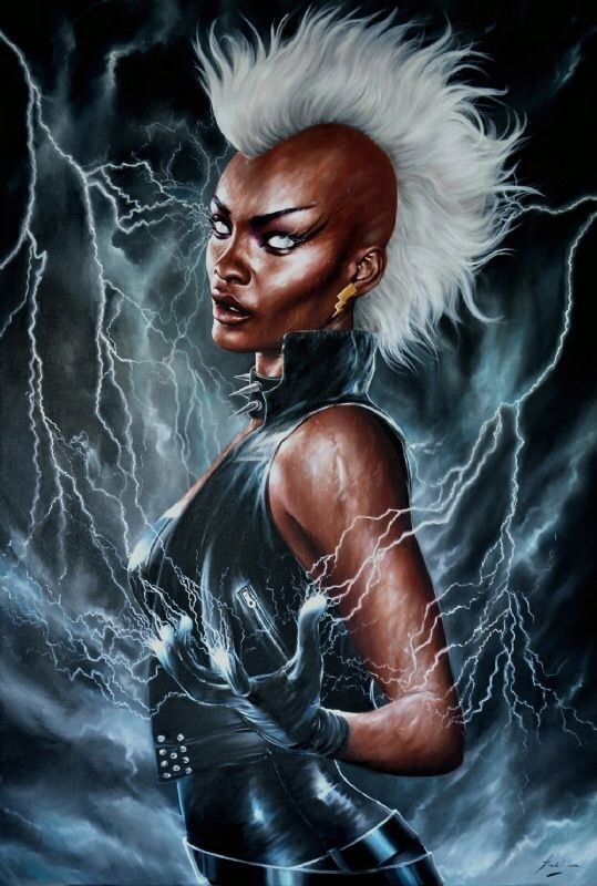 Storm by Fred Ian Comic Art