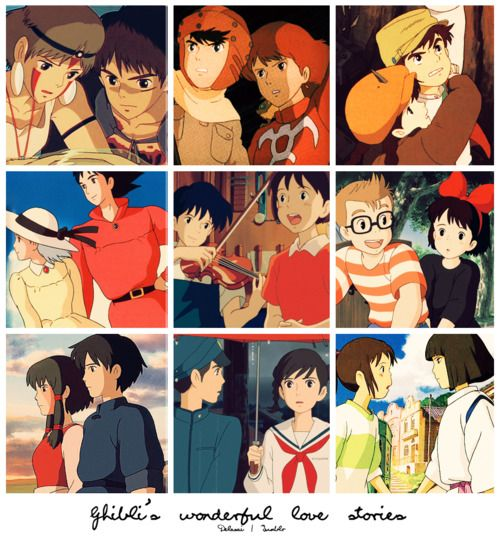 Studio Ghibli Love