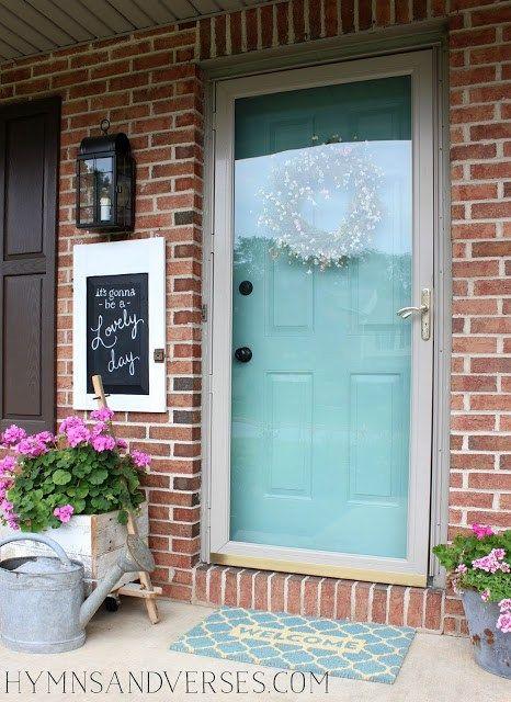 Summer Front Door -