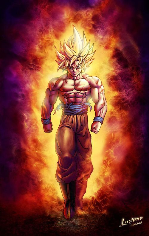 Super Saiyan Goku - Dragon Ball Z