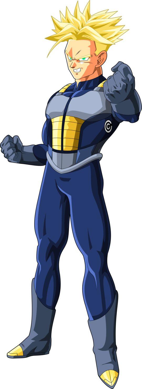 Super Saiyan Trunks (Cell Saga) MLL Redsign by OWC478 on DeviantArt