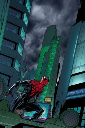 Superior Spider-Man #32 preview art by Giuseppe Camuncoli