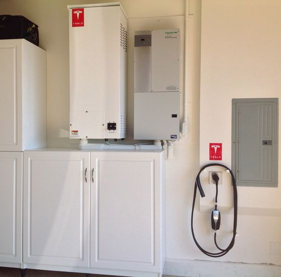 Tesla Home Battery works like a generator holding 3 days of power, or with solar panels you can remove the need for electricity from the grid.