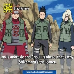 that makes sense that Ino is anorexic. she is so pretty, but also really