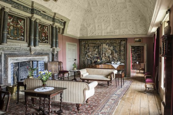 The Drawing Room at Canons Ashby, Northamptonshire - image 5 of 25