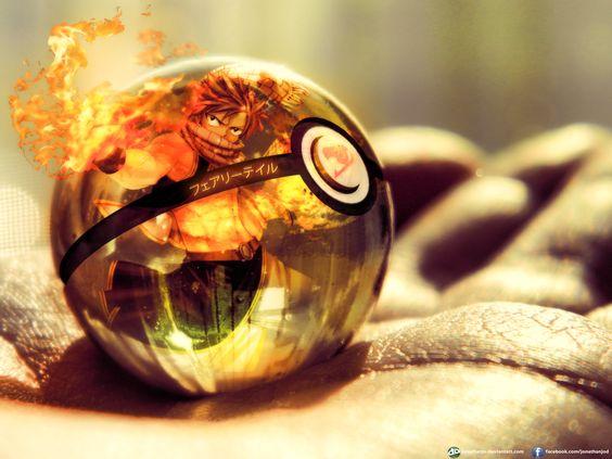 The Fairy Tail Pokeball by =jonathanjo on deviantART