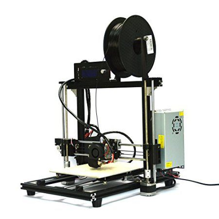 The HICTOP Desktop Prusa i3, in my opinion, is the best sub-$500 #3Dprinter on the market. If you are okay with the idea of assembling your printer yourself, the HICTOP Desktop Prusa i3 is a great option as it has an enormous build volume, has a heated print bed (and, therefore, can print in ABS), and comes with an auto-leveling feature, which is incredibly useful. Ultimately, if you want an affordable 3D printer kit, this is the one to get. #3dprinting