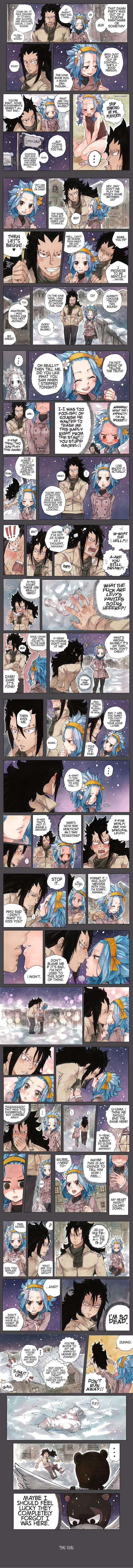 The Panty Incident - A continuation of the Christmas Special where Gajeel and Levy walk home and attempt to flirt with each other. Too caught into their world, they forgot they had company. made by Rboz | sketchy ✖ flavor