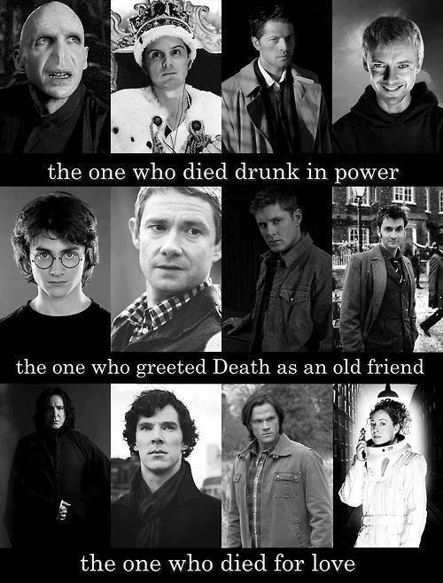 The Tale of Three Brothers for Harry Potter, Sherlock, Supernatural, and Doctor