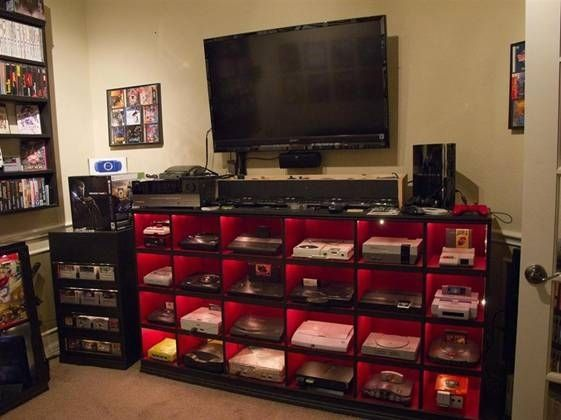 The Video Game  gaming system ever existed in one room.