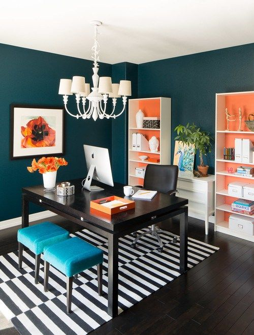 These 18 inspirational office spaces from Online Fabric will have you clambering to re-design your home office