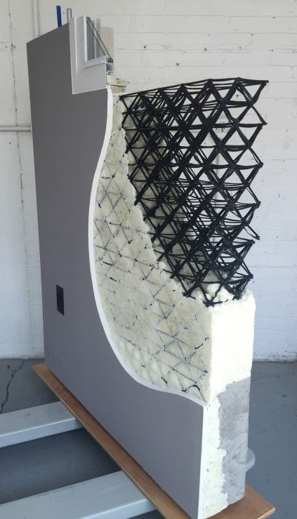 This Architect-Designed Wall System Has a 3D-Printed Core   Architect Magazine   Technology
