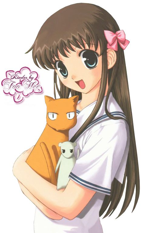 Tohru Honda, Fruits Basket----I love her character. She goes through all hell in life but is still sweet caring.