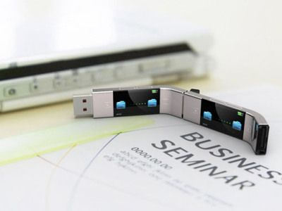 Transfer files from your USB to another USB without a computer! U Transfer USB Stick