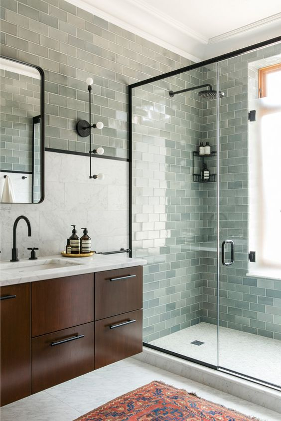 Trend: Black Bath Fixtures — Maggie Stephens Interiors