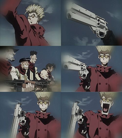 Trigun Episode 1: The $$60 Billion Man