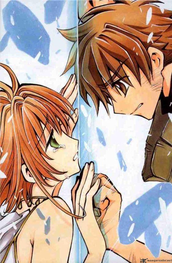 Tsubasa Reservoir Chronicle Manga pg 4. ....pardon me while i go cry in my