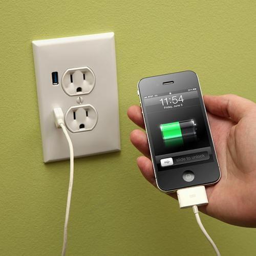U-Socket USB Wall Plug