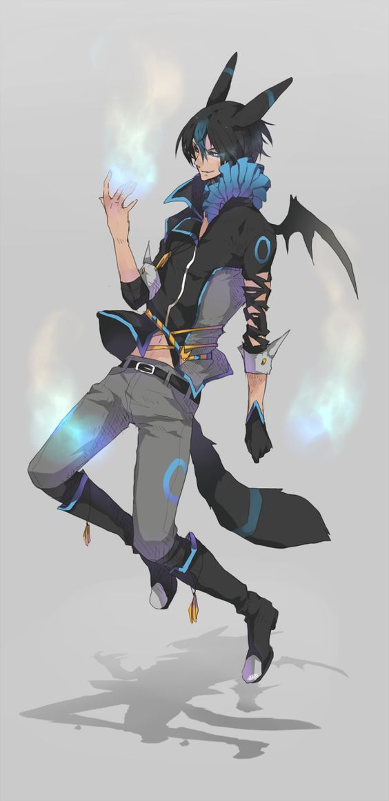 Umbreon human form. This is awesome!