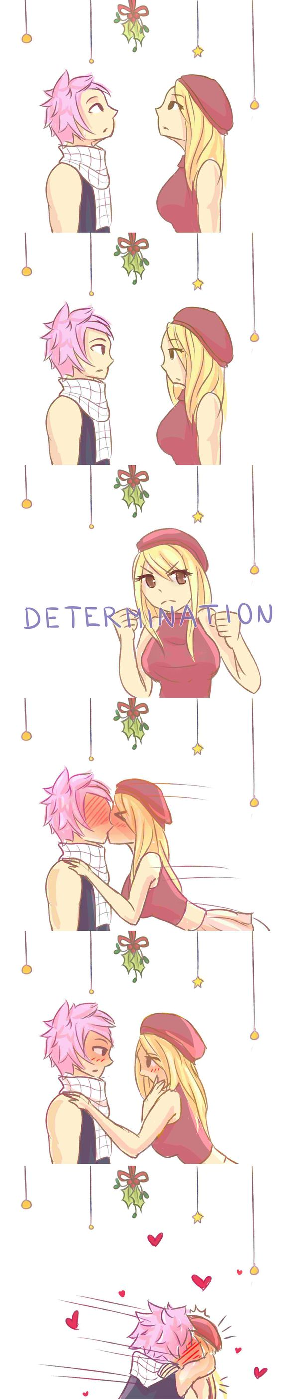 Under the Mistletoe by hazu-i on DeviantArt