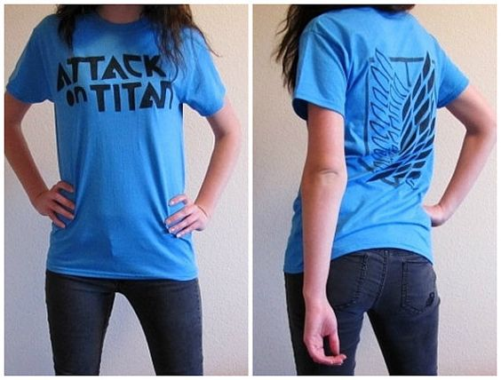 Unisex Attack on Titan shirt. Comes in a few different colors. You want one @Mario Barraza ???