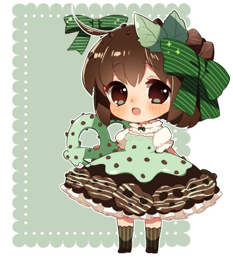 UPDATE::added BG ;v; actually the lace is from my adopts! XD;;;to lazy to make a new one Based off of these goodies! TvT//////people voted on the poll, so I randomly picked mint