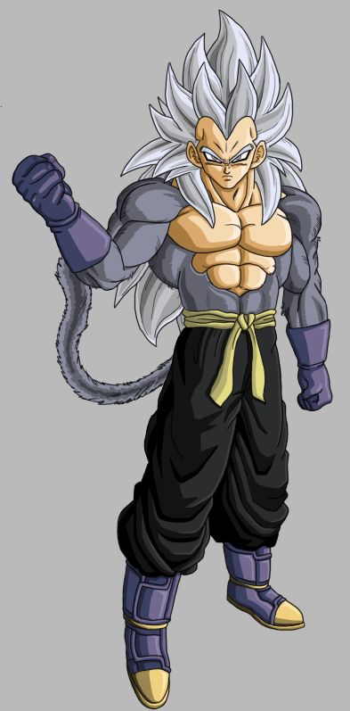 Vegeta SSJ5 (Dragon Ball ER)