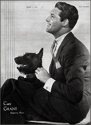 Vintage Doggy: Cary Grant and his Scotty
