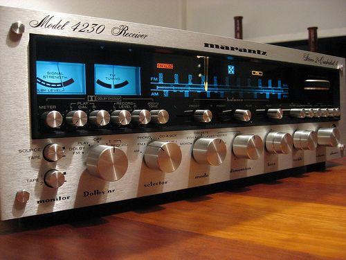 vintage Marantz stereos are sweet