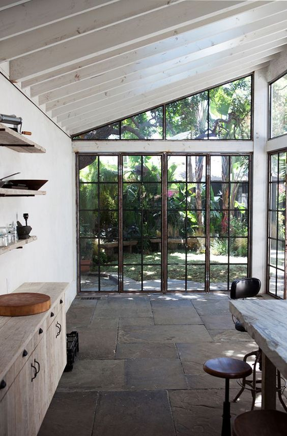 Walls of windows
