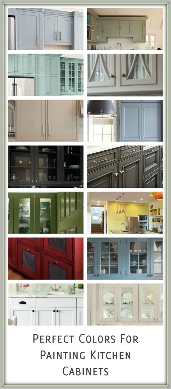 When trying to decide on a color to paint your kitchen cabinets, keep in mind that your color choice is a little different than painting a piece of furniture. If for any reason you decide to move, ...