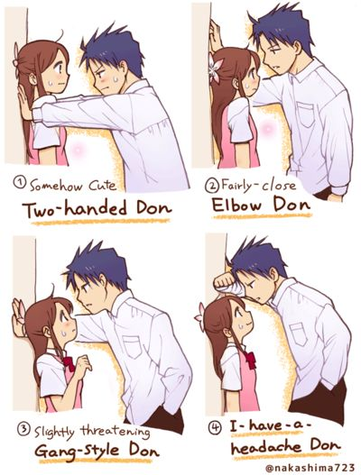Which Kabe-don Do You Love? by nakashima3 on deviantART