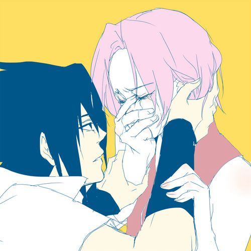 Why have I not pinned this? This fanart is beautiful~ sasusaku