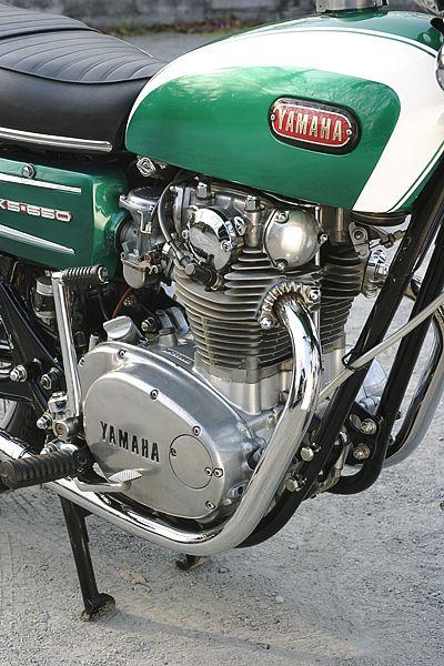 ヤマハ XS650 1970・名車ライブラリ   モトRIDE
