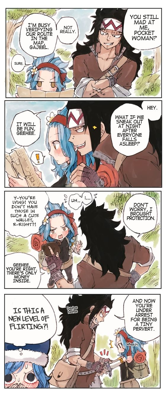 Yes, Juvia but I'm sure you won't like to see what are they