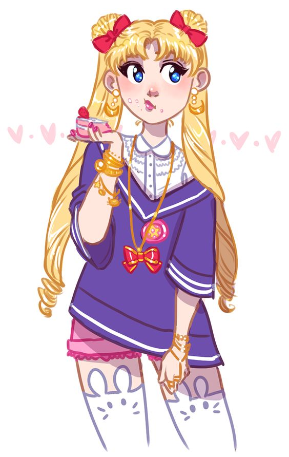 "yoccu: "" been watching SO MUCH sailor moon lately """