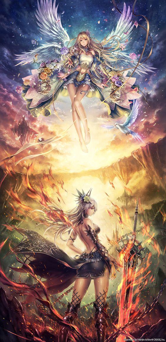 "yoshiro_ambe on Tokyo Otaku Mode β #ReBirth #RAGNABREAK ""Deity Wars"" #AngelandDemon"