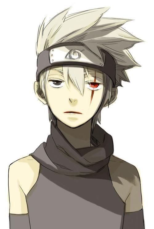 Young Kakashi.