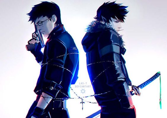 Yukio & Rin Okumura (Blue Exorcist/Ao no Exorcist) fanart by LAS-T at DeviantART