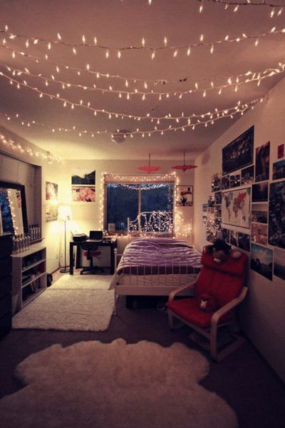 16-teenage-girl-bedroom-decors-with-light-top-easy-interior-diy-design-project (6)