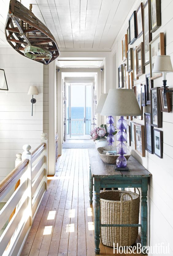 beach house hallway | Tammy Connor Interior Design