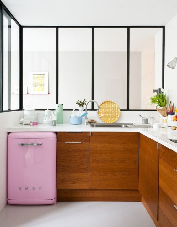 Bubblegum Pink Smeg For The Kitchen