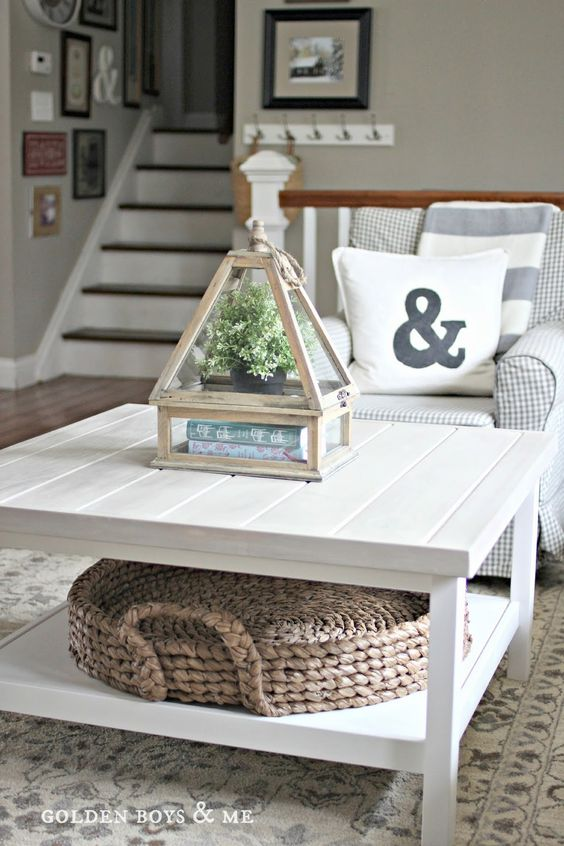 Coffee Table Tutorial (Ikea Hack)