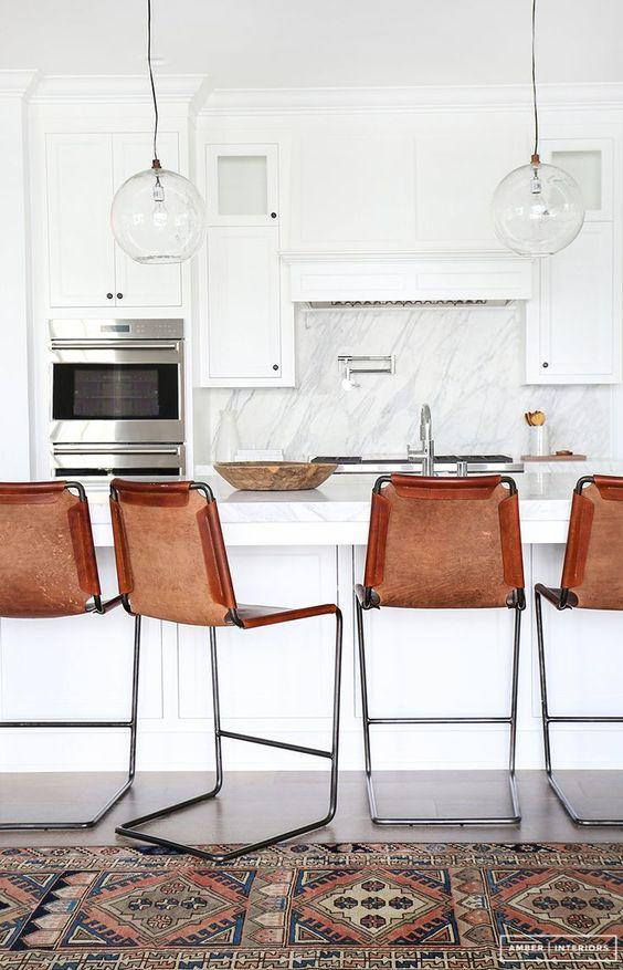 coolest kitchen island/bar set up
