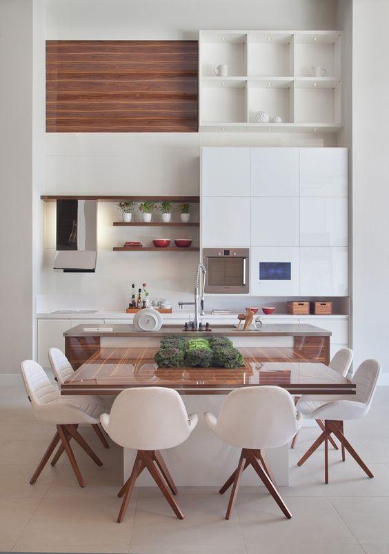 Cozinhas com pé direito alto | Tempo da Delicadeza