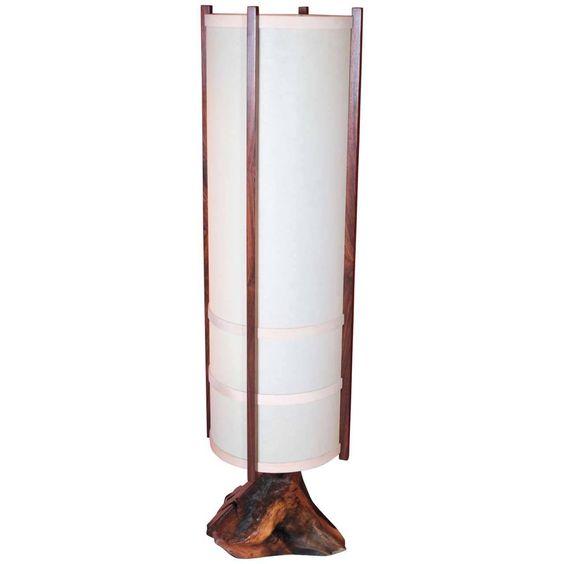 George Nakashima 'Kent Hall' Floor Lamp
