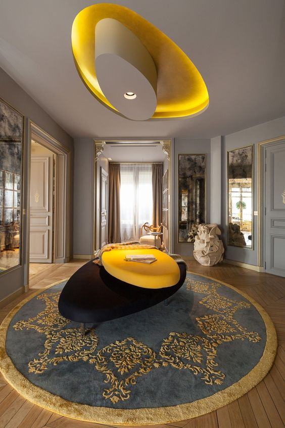 George V Apartment by Gérard Faivre - Tempo da Delicadeza