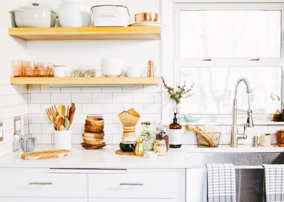 I like my kitchen like I like my food. Simple, natural ingredients, and wine. Lots and lots of wine. @HomeGoods #MakeHomeYours #ad