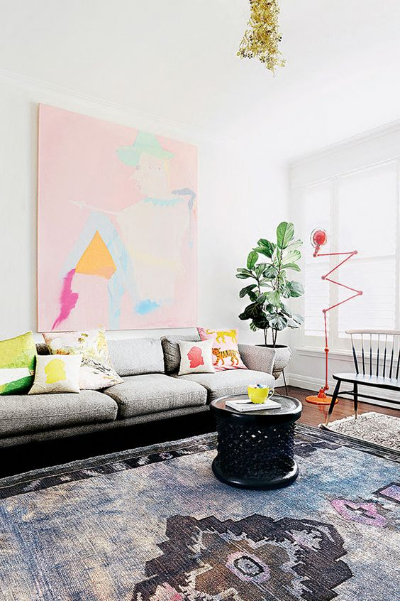 Interior Design | Colorful Melbourne Apartment - DustJacket Attic